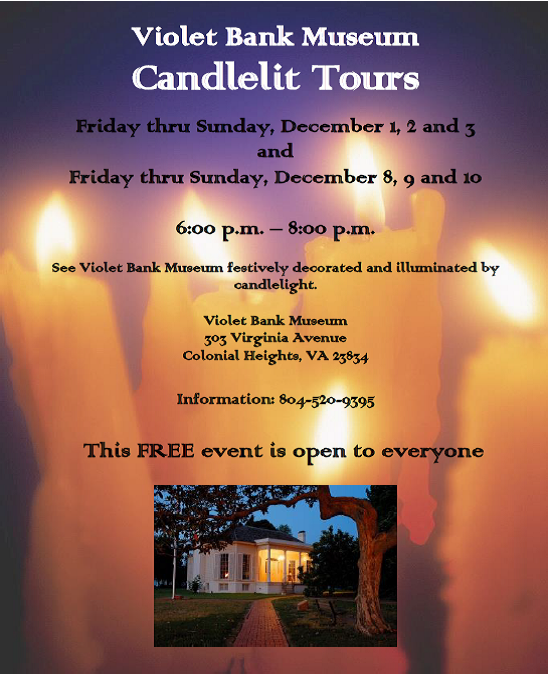VBM candlelight tours 2017