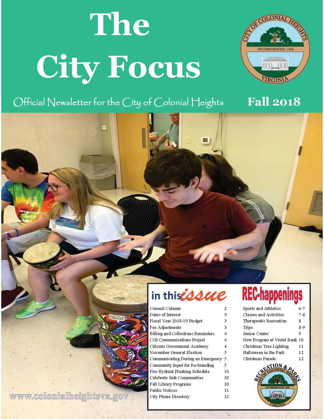 City Focus - Fall 2018