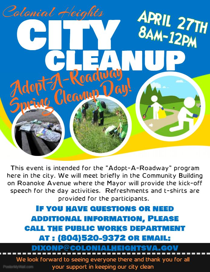 CH City Cleanup Flyer- April 27, 2019