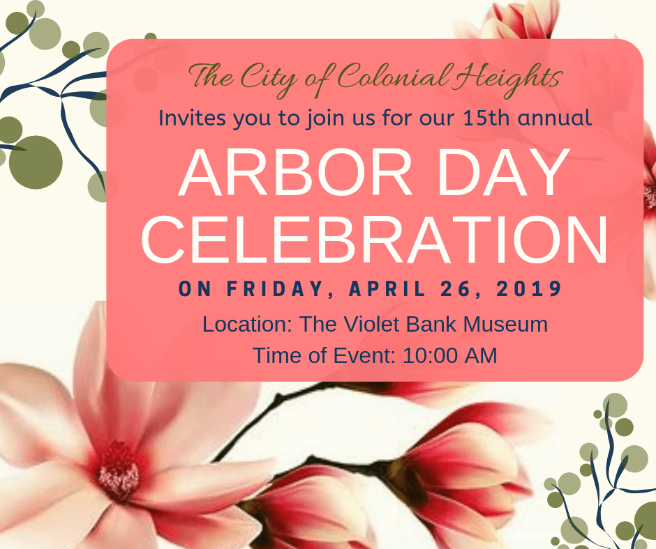 Arbor Day Invitation - April 2019 canva