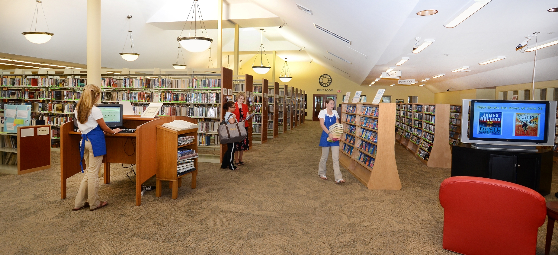 Interior of Library